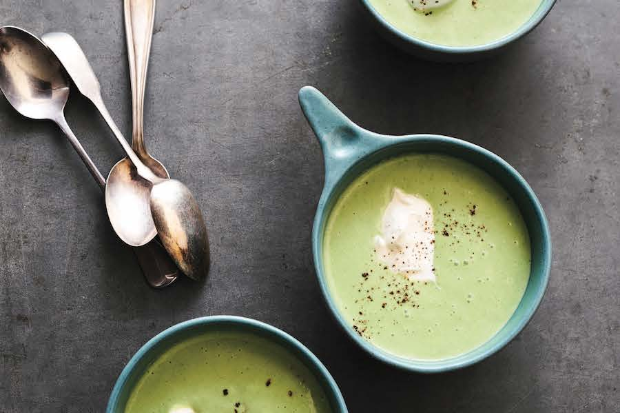 Pea Soup recipe from Eating from Ground Up by Alana Chermila | Cool Mom Eats