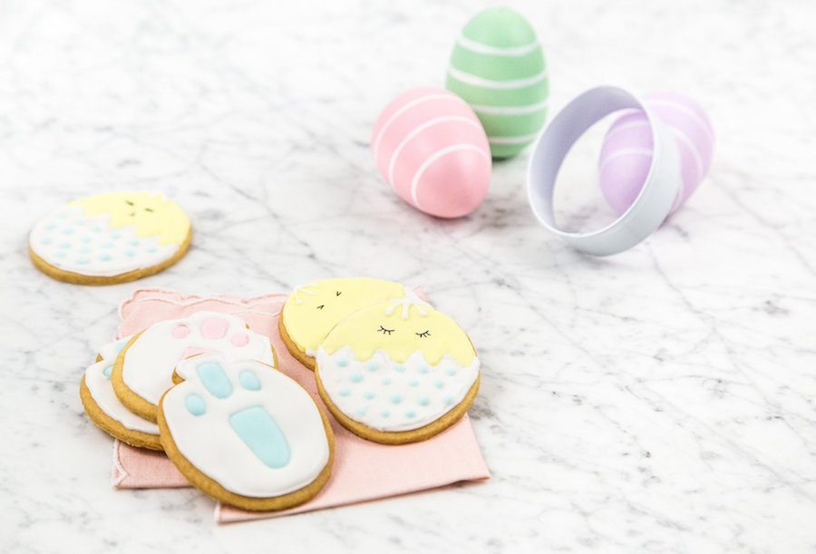 Make adorable Easter cookies with this DIY Easter cookie kit at Red Velvet NYC