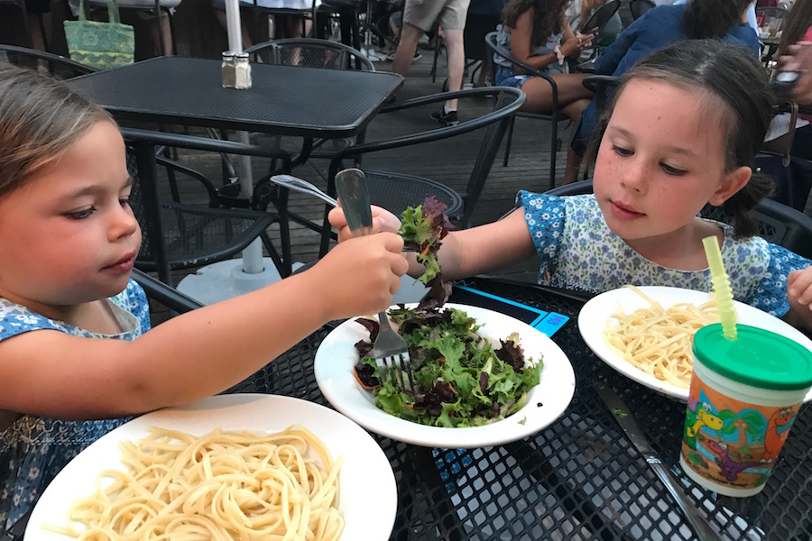Surviving a restaurant with toddlers: The one product I won't leave home without.