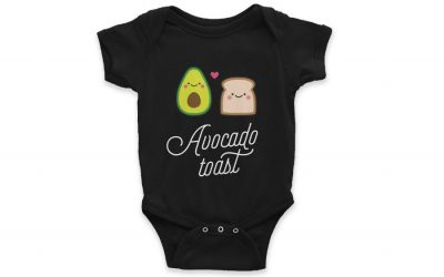 7 favorite foodie baby shower gifts featuring the It Foods of the moment.