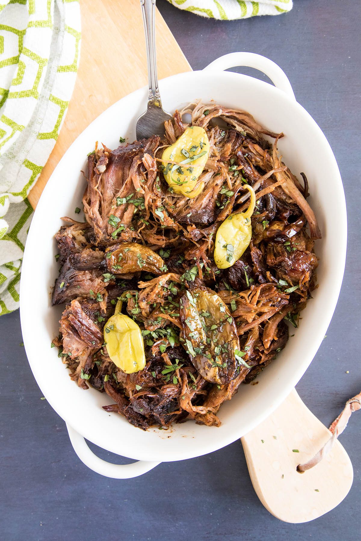 Cool Mom Eats weekly meal plan: Mississippi Pot Roast at Chili Pepper Madness