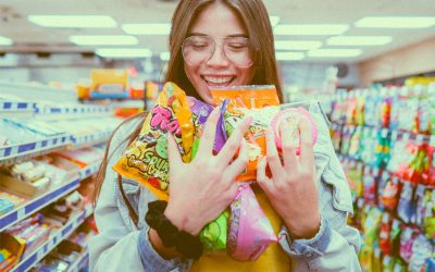 Grocery shopping changes as our kids get older, but the same emotions are still on the list