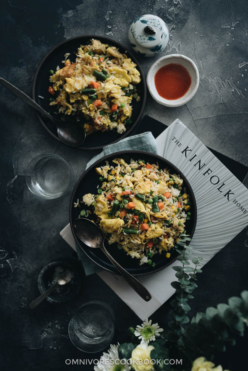Budget-friendly dinners: Vegetable Fried Rice | Omnivores Cookbook