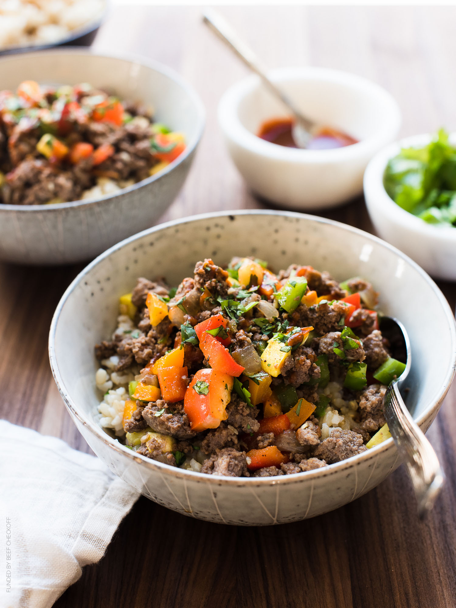 Cool Mom Eats weekly meal plan: Filipino-Style Picadillo Bowls