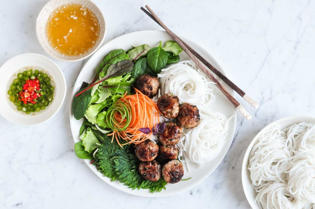 Cool Mom Eats weekly meal plan: Vietnamese Pork Meatballs | Eat Little Bird
