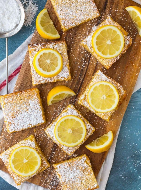 Best Mother's Day picnic recipes: Best Lemon Bars | Well Plated