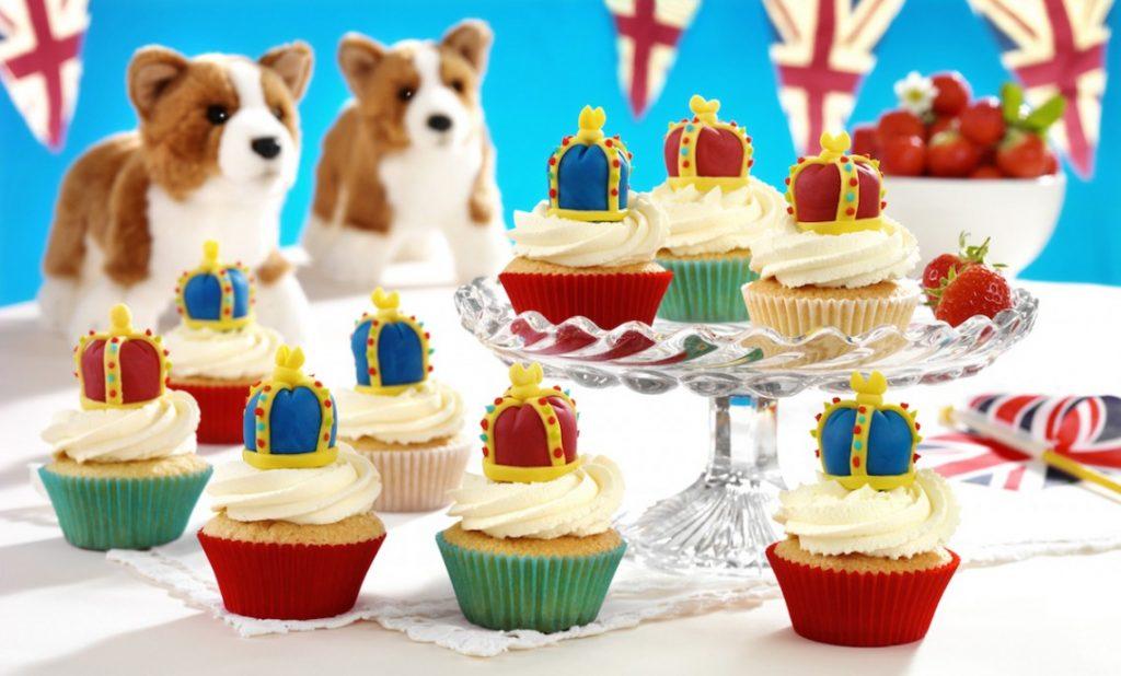 Princess cupcakes: British Princess Cupcakes | Maison Cupcakes
