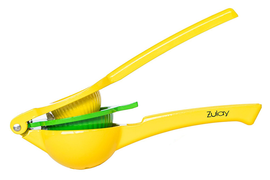Best Citrus Juicer: The Zulay Metal Hinged Manual Squeezer (and we tried 5!)