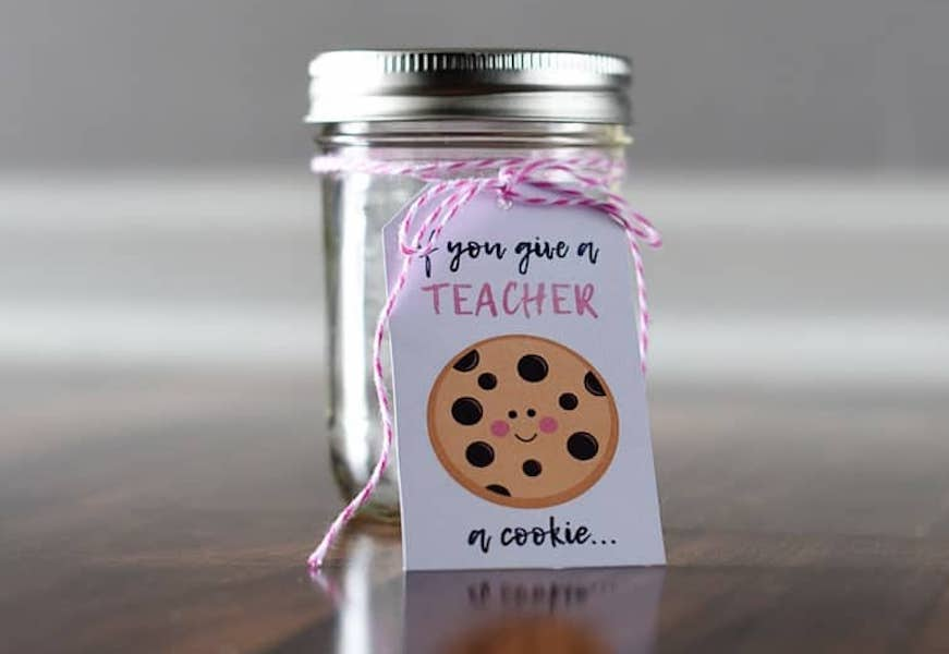 8 classic teacher appreciation food gift ideas, made a little more special and personalized