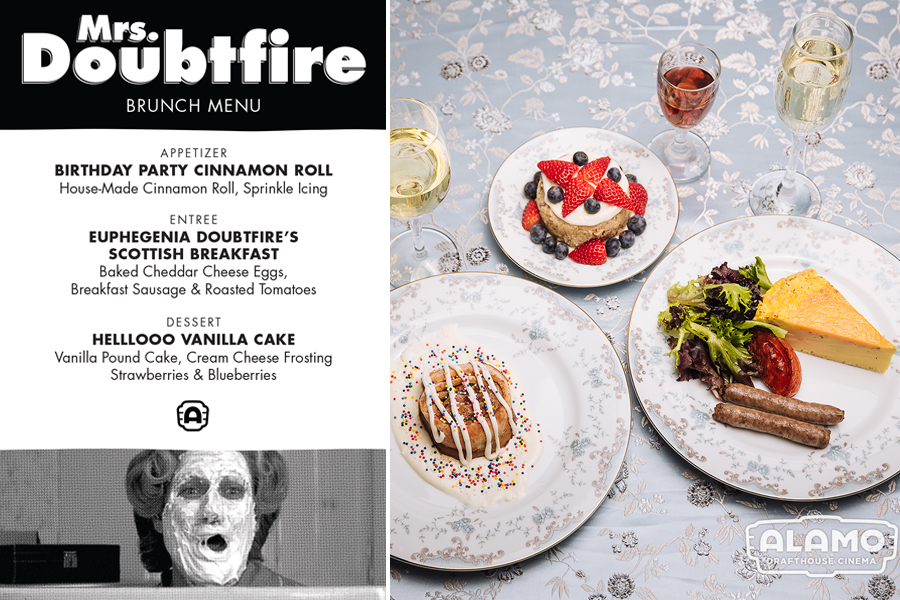 Alamo Drafthouse Mother's Day Brunch Screenings: Mrs. Doubtfire