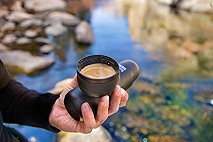 Gourmet Father's Day Gifts: MiniPresso Mini Portable Espresso Maker