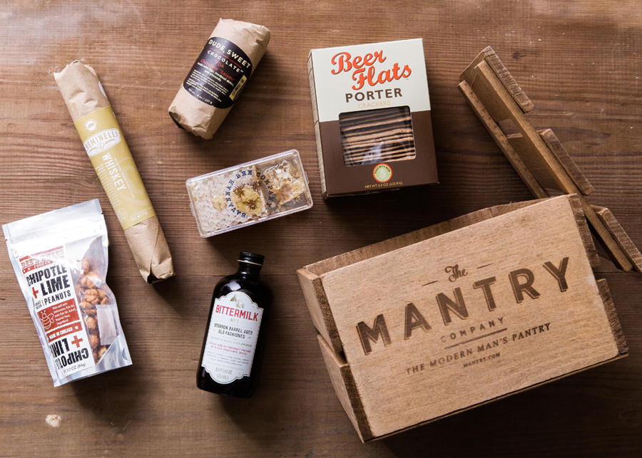 Gourmet Father's Day Gifts: Mantry Gourmet Food Crates