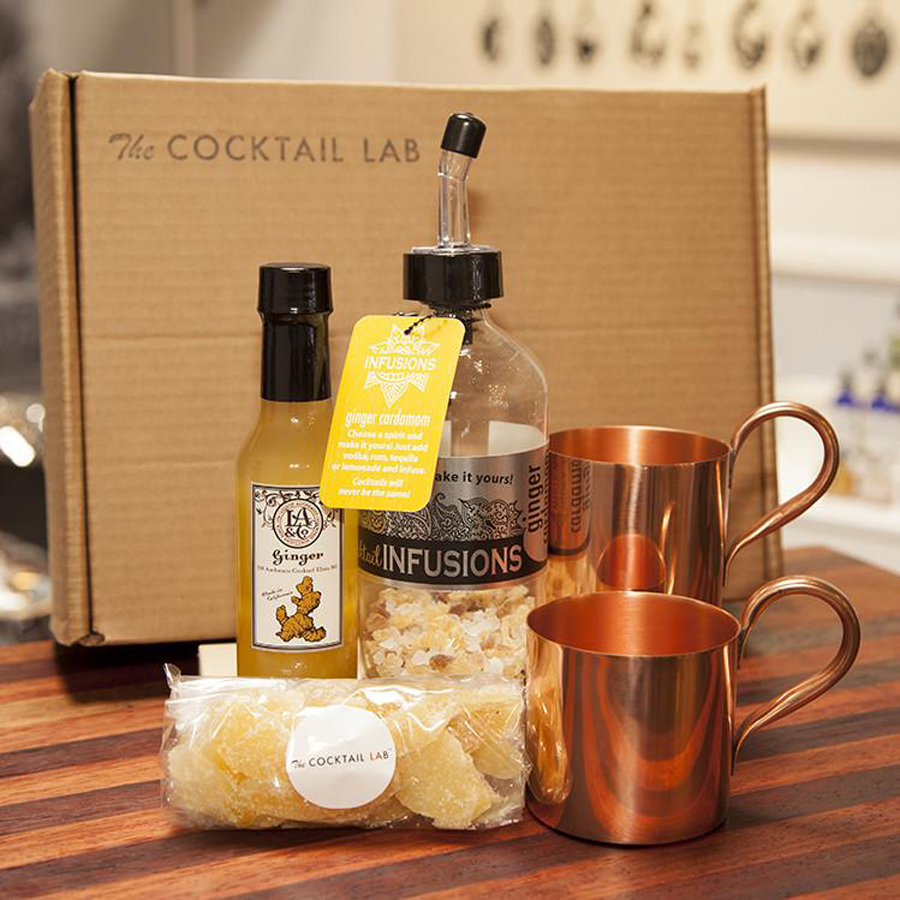Gourmet Father's Day Gifts: Cocktail Lab Moscow Mule Kit