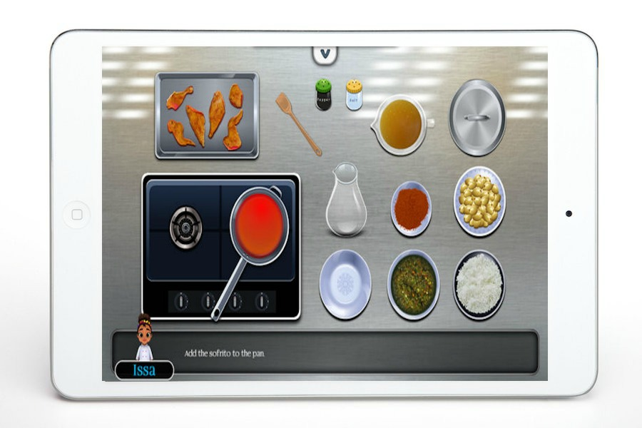 Issa's Edible Adventures app: Learn to cook virtually, for kids
