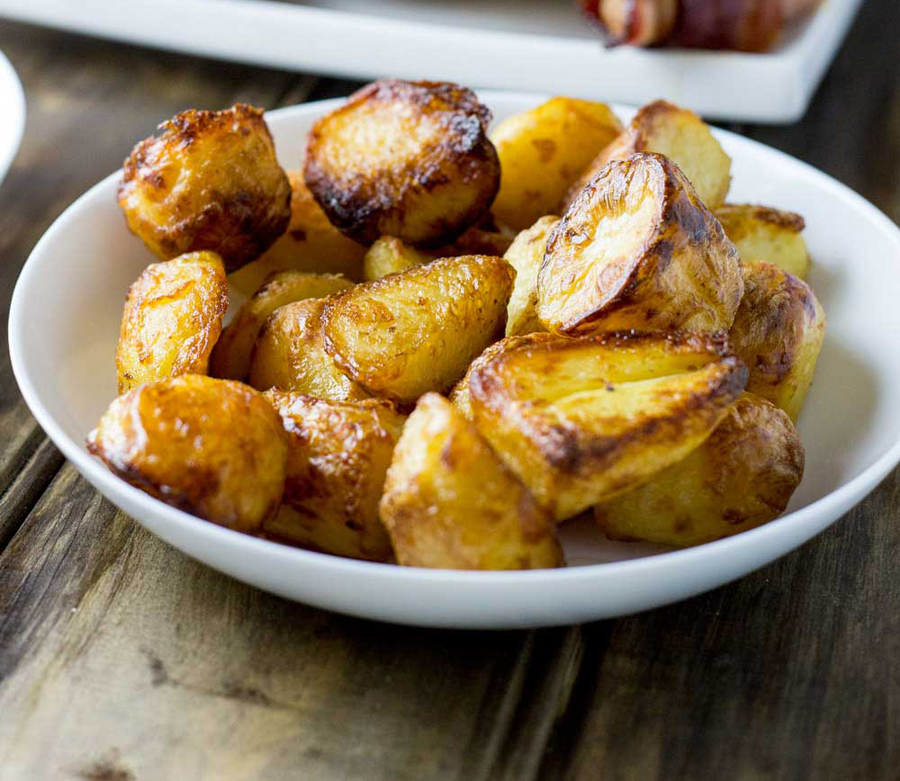 Make ahead Mother's Day brunch recipes: Prepare Ahead Roast Potatoes at Sprinkles and Sprouts