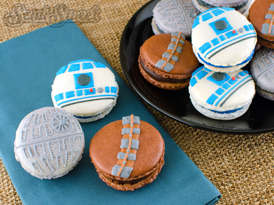 Star Wars Macarons from Semi Sweet