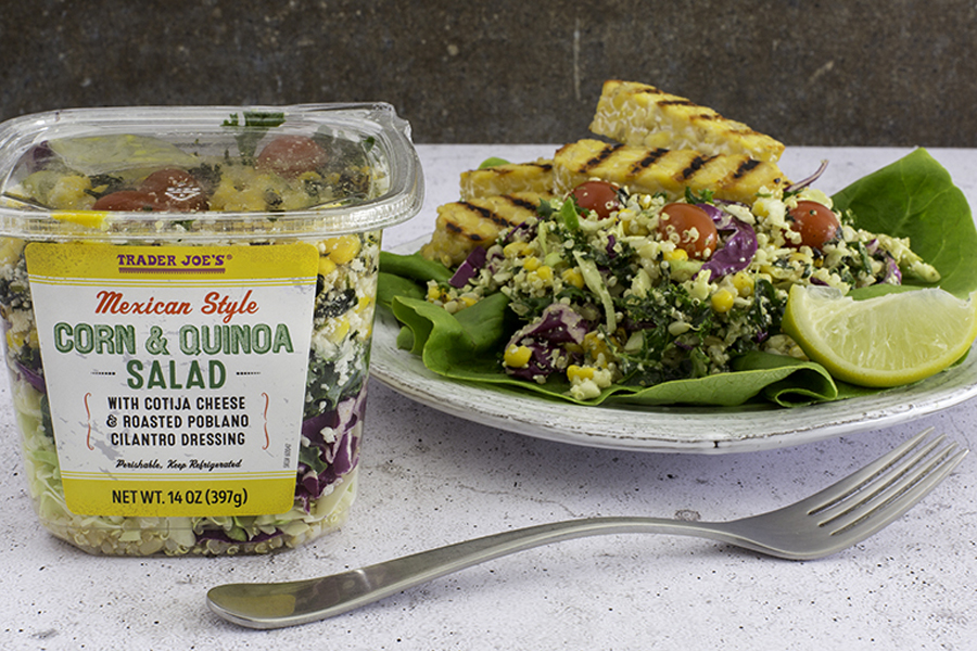 Trader Joe's Family Friendly Products: Mexican Style Corn and Quinoa Salad