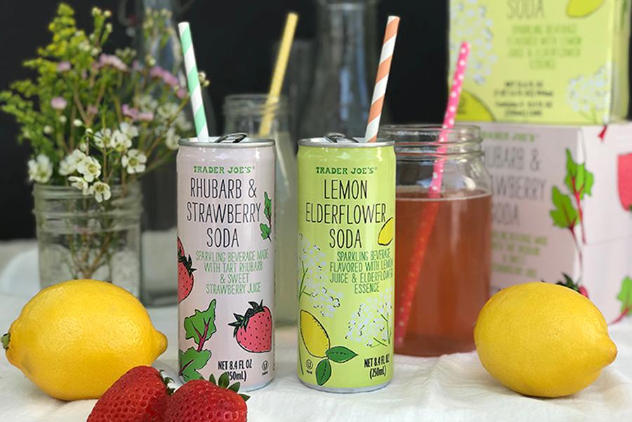 Trader Joe's Family Friendly Products: Springy Sodas