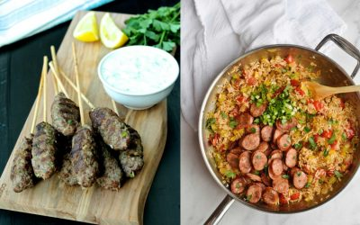 Next week's meal plan: 5 easy recipes for the week ahead, from a Middle Eastern twist on meatballs to One Pan Jambalaya.