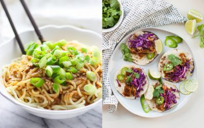 Next week's meal plan: 5 easy recipes for the week ahead, from vegan Korean tacos to the easiest sesame noodles.