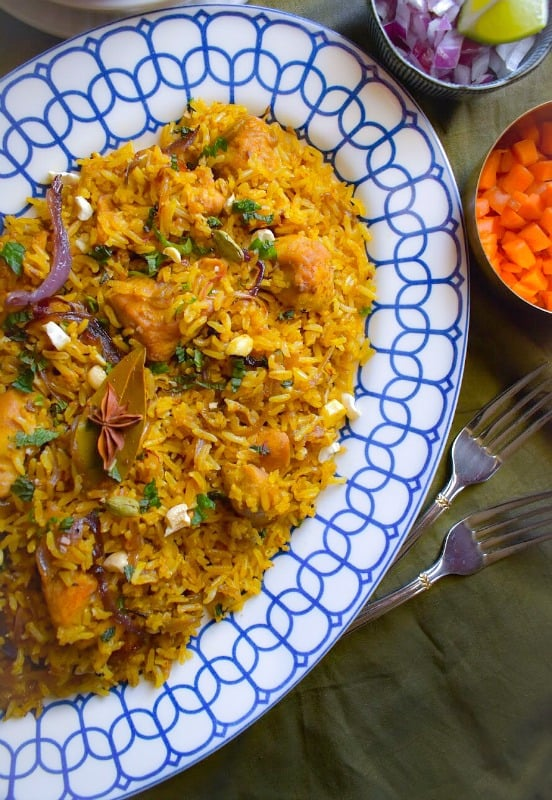 Cool Mom Eats weekly meal plan: Easy and Lighter Chicken Biryani at Cooking With Molly