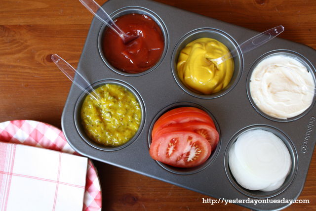 Best grilling hacks for summer: genius condiment caddy | Yesterday on Tuesday