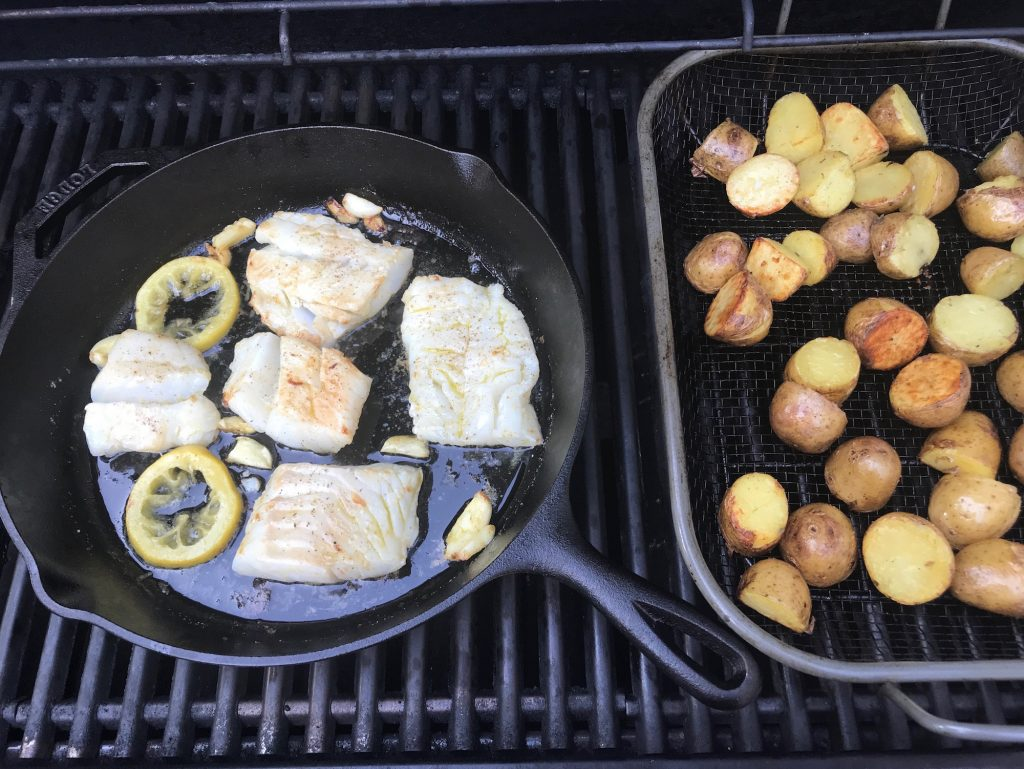 Best grilling hacks for summer: Use that cast iron! | ©Jane Sweeney Cool Mom Eats