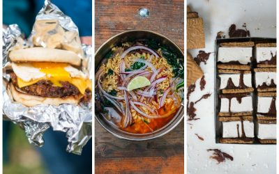 The best simple camping recipes for your next family trip, for breakfast, lunch, dinner, and s'mores.