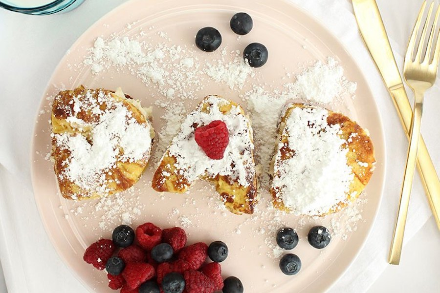 6 easy Father's Day treats kids can help make: Bacon stuffed French toast at Glitter and Bubbles