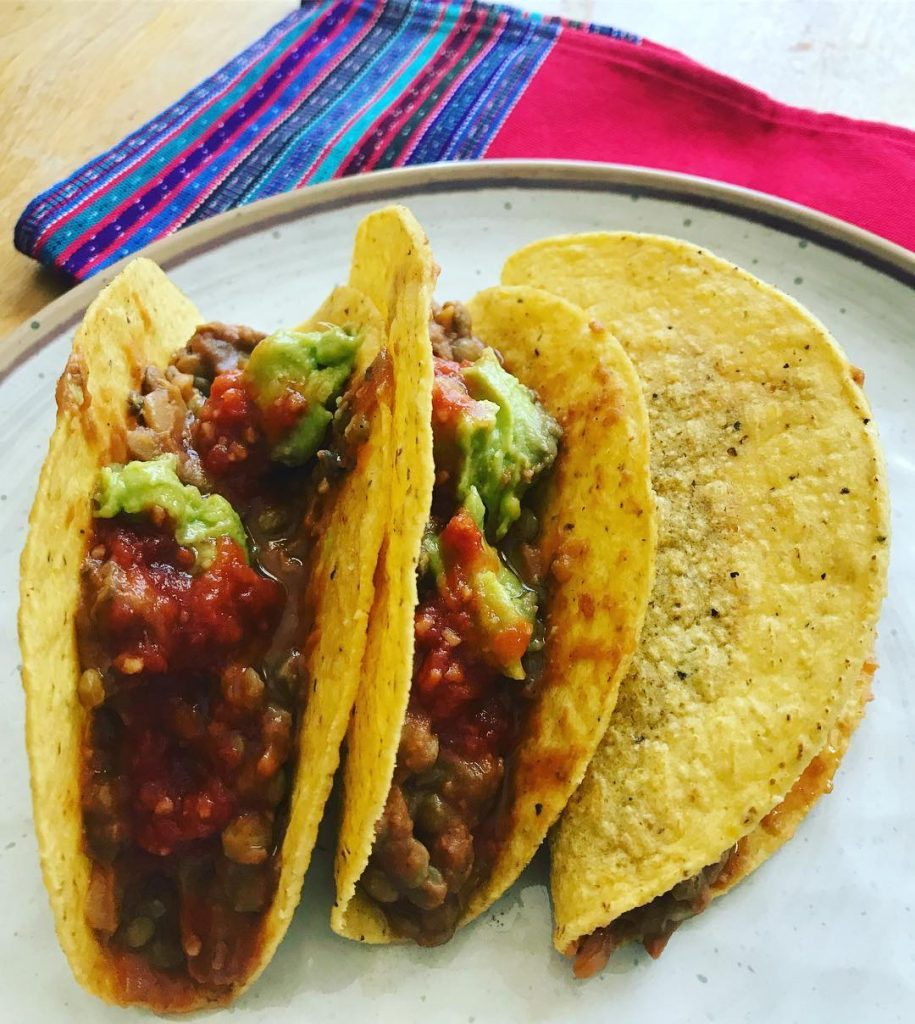 Favorite Father's Day recipes: Lentil Tacos | Vegan with the Kids