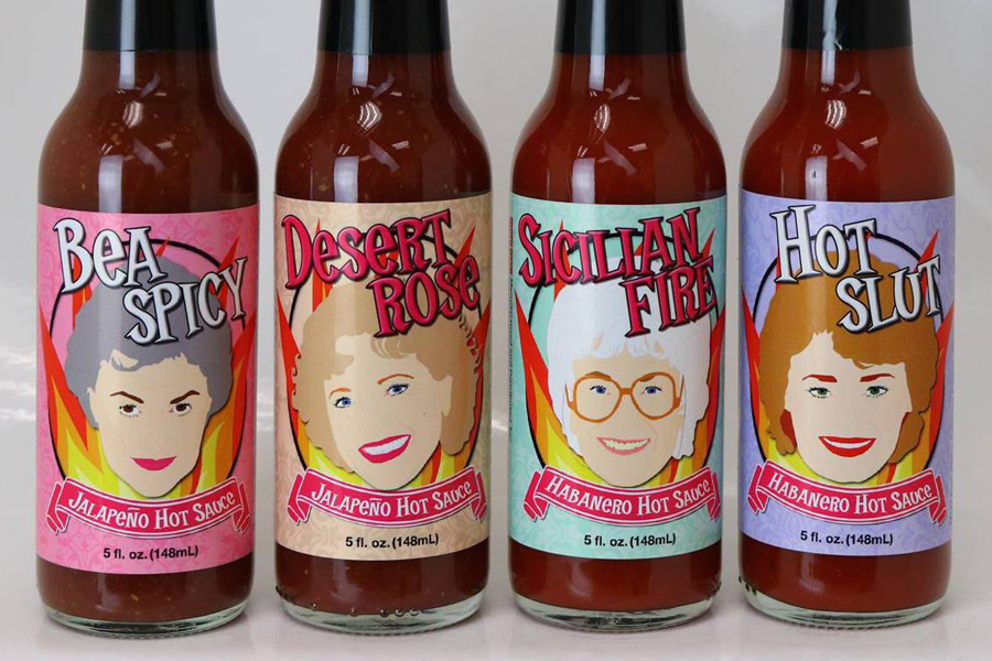 Golden Girls hot sauces! Yes, really!