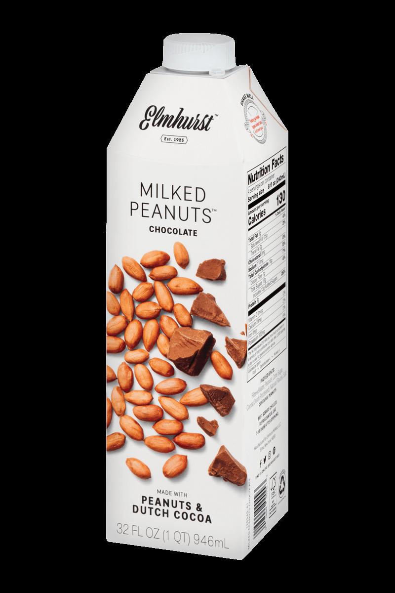 Elmhurst plant-based milks: Milked Peanuts