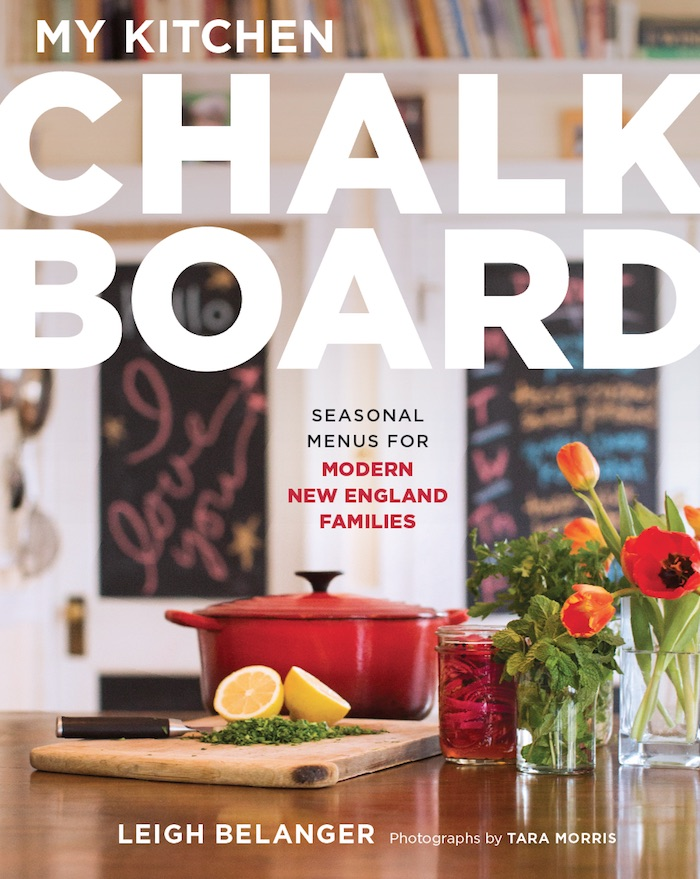 Great summer cookbooks for families: My Kitchen Chalkboard by Leigh Belanger