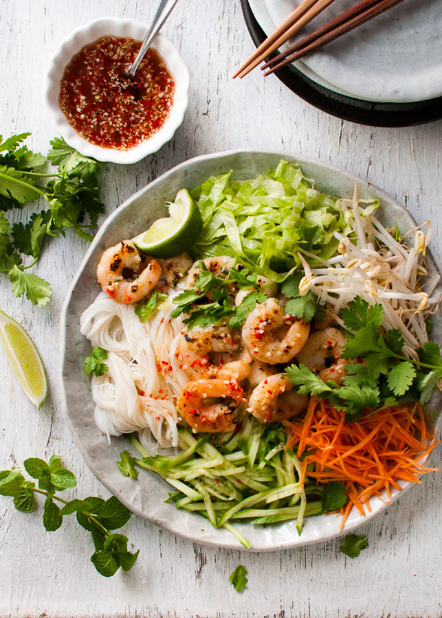 Creative Summer Pasta Salads: Vietnamese Noodle Salad from Recipe Tin Eats