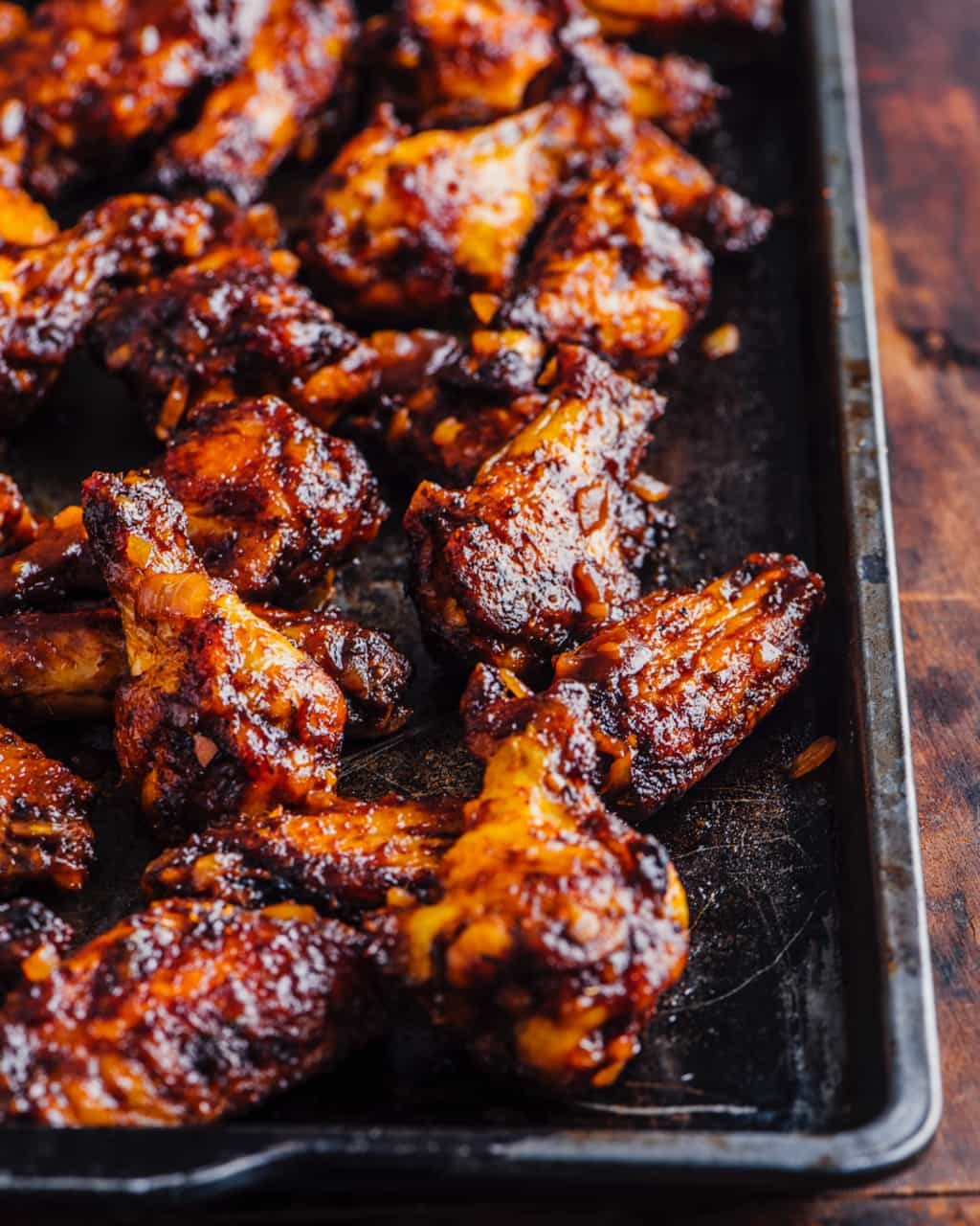 Cool Mom Eats weekly meal plan: Oven BBQ Chicken wings | Steamy Kitchen