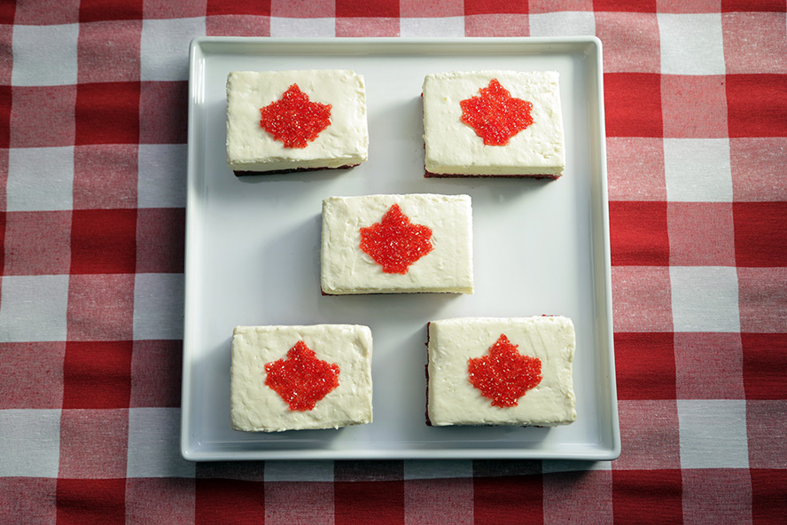Cheesecake Bars for Canada Day! | Food Network Canada