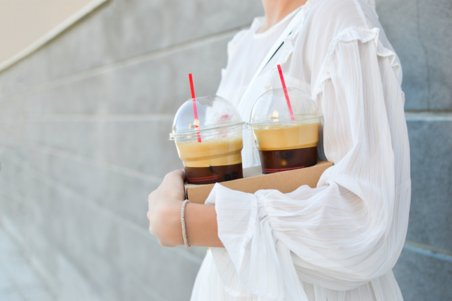 Guide to the best fast food iced coffee when you're road tripping. Because you're going to need it.