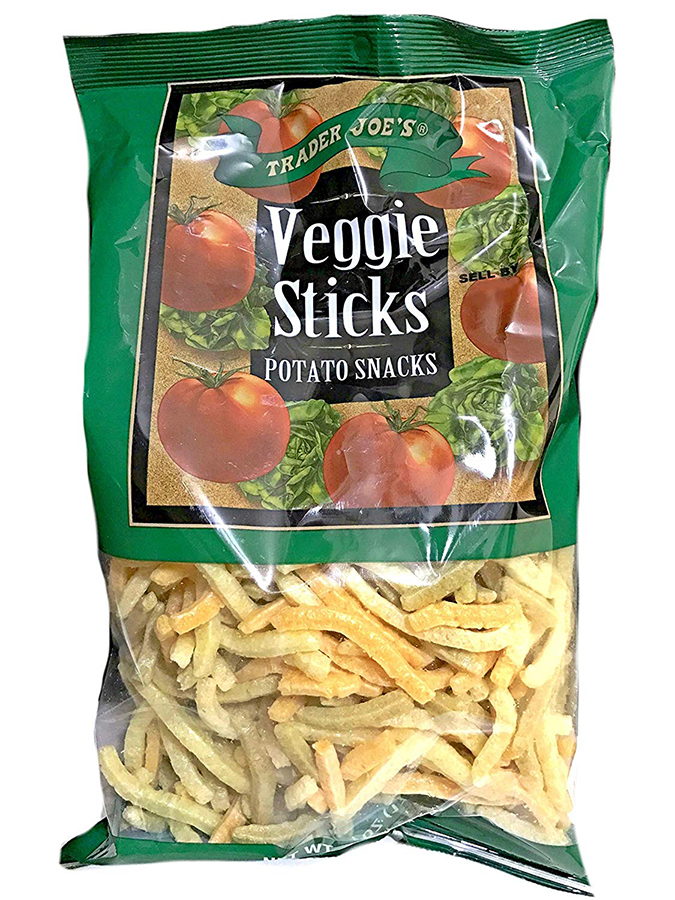 Camp snack ideas for kids from Trader Joe's: Veggie Sticks