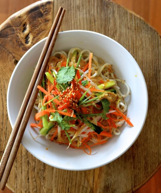 Cold Noodle Dishes: Cold Sesame Noodles from The Woks Of Life