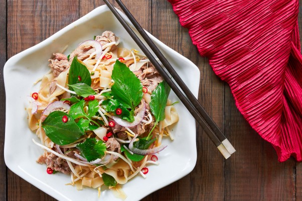 Cold Noodle Dishes: Pho Salad recipe from Marc Matsumoto