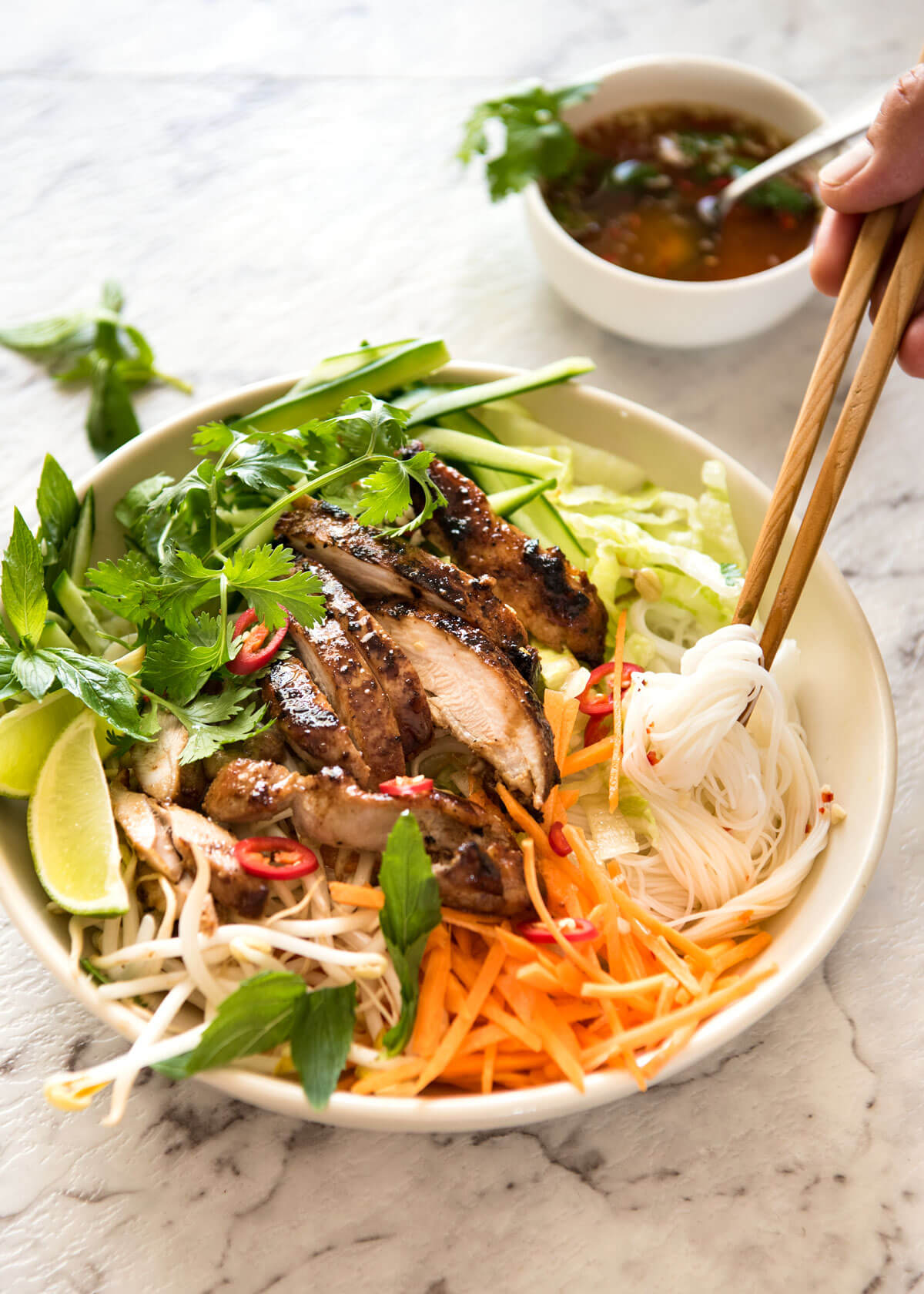 Weekly meal plan: Easy summer dinners | Vietnamese Lemongrass Chicken at Tin Eats