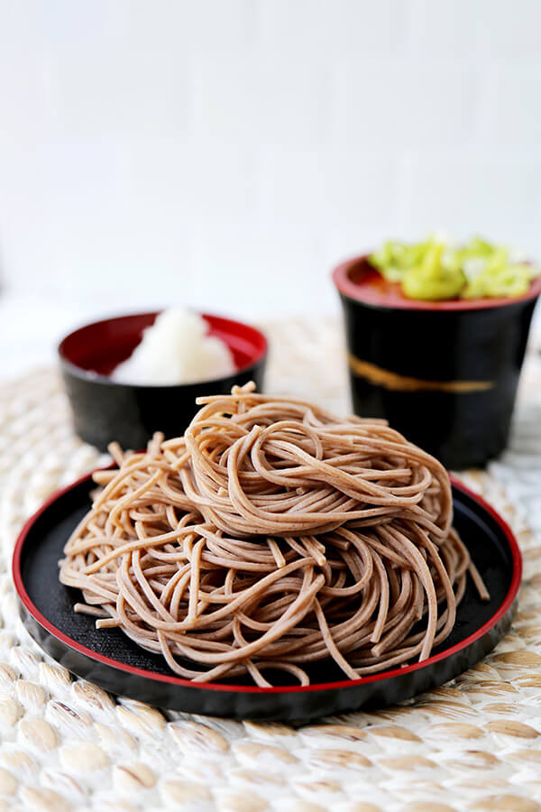 Cold Noodle Dishes: Zaru Soba recipe at Pickled Plum