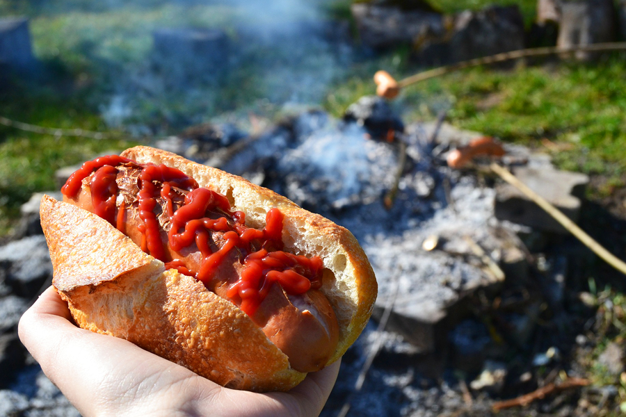13 ideas for creative hot dog toppings. No offense, mustard!