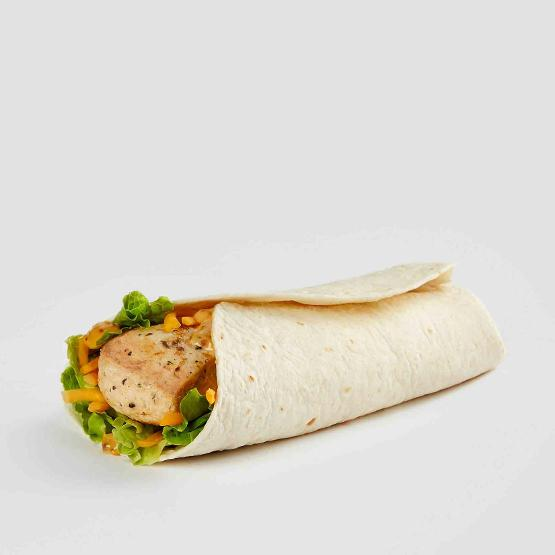 Healthiest fast food options beyond salads: The grilled chicken wrap at Wendy's