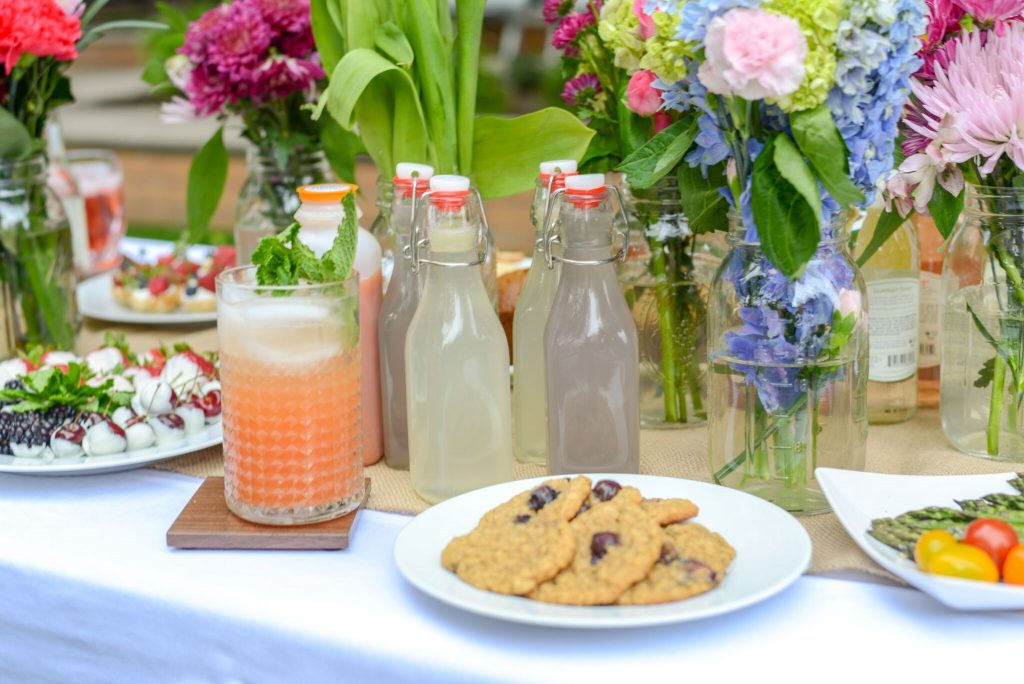 Mint and lavender make lemonade more special when you're entertaining | Recipe from Christopher Mohs of Pumpernickel & Rye