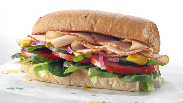 The healthiest, low-calorie choices at top fast food chains beyond salads | Subway's Fresh Fit Turkey Breast Sandwich is under 300 calories