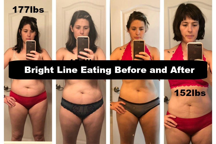 How I lost 25lbs in 3 months with Bright Line Eating