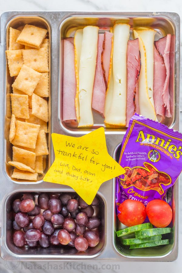 Easy preschool lunch ideas for toddlers: Deli meat school toddler lunch lets you get semi-homemade but still nutritious |  Natasha's Kitchen