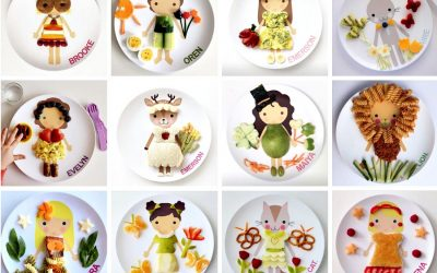 Play with your food: 14 fabulous dishes and plates for kids to help make mealtime fun.
