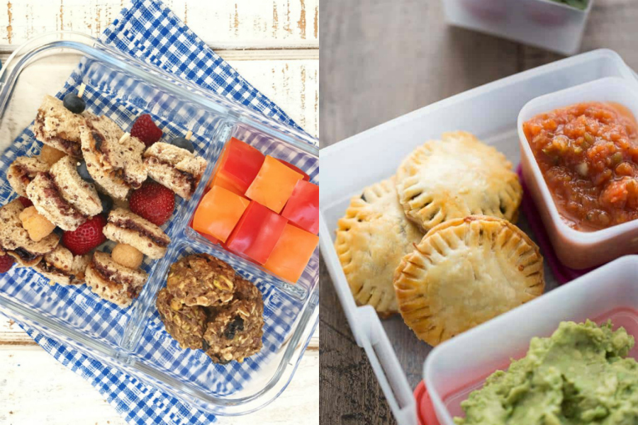 5 inspiring, easy preschool lunch ideas for toddlers. No molars or utensils required!